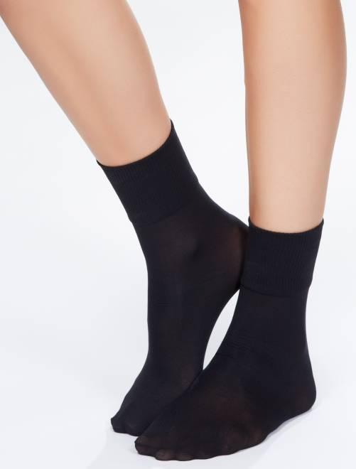 Chaussettes opaques 'Sanpellegrino' Dream 50D                             noir
