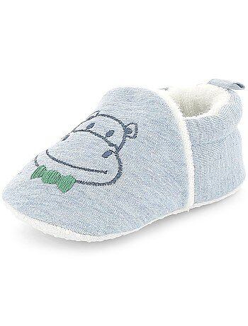 Chaussons broderie 'lapin' - Kiabi