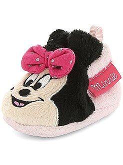 Chaussons en ratine douce 'Minnie'