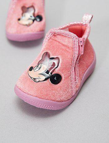 Chaussons montant 'Minnie' - Kiabi