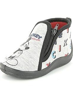 Chaussons montants 'Mickey'