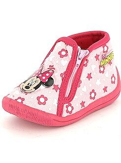 Chaussons - Chaussons montants 'Minnie' - Kiabi