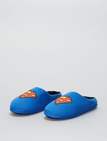 Chaussons mules 'Superman' 'DC Comics' - Kiabi