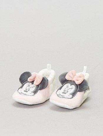 Chaussons polaire 'Disney' 'Minnie Mouse' - Kiabi