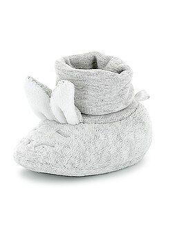 Chaussons - Chaussons têtes de lapins