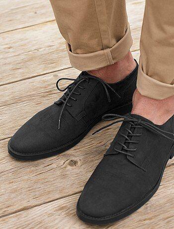 Homme du S au XXL - Chaussures de ville en suédine - Kiabi
