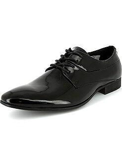 Chaussures de ville richelieu vernies - Kiabi
