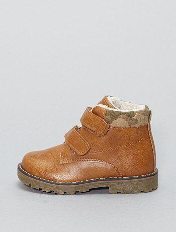 Chaussures montantes en simili - Kiabi