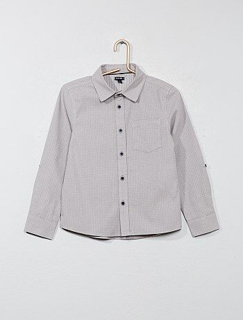 Chemise avec motifs - Kiabi