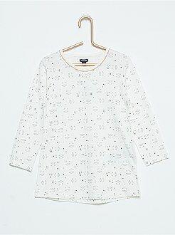 Chemise de nuit imprimé 'mouton'