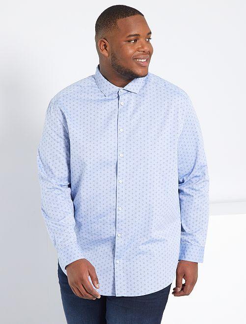Chemise éco-conçue                                                                 bleu pâle