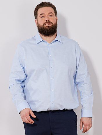 Chemise regular en coton oxford - Kiabi