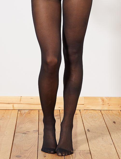 Collants 'beauty resist' semi-opaque 'DIM'                             noir