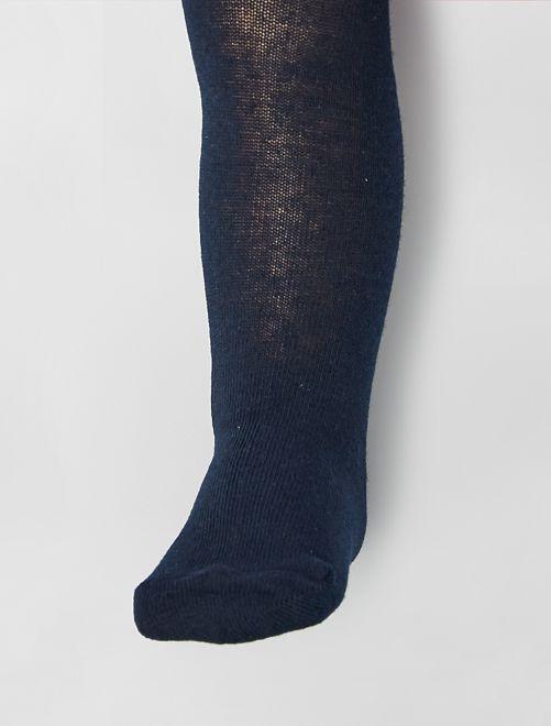 Collants chauds éco-conçus                                                                                                                 bleu marine