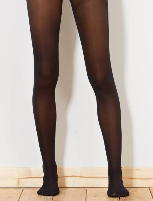 Collants DIM 30D spécial sneackers                             noir Lingerie du s au xxl