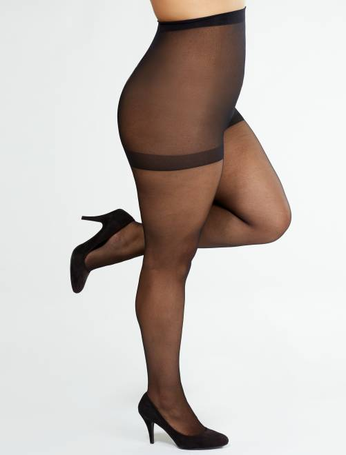 Collants 'Sanpellegrino' Supermaxi 20D                                         noir