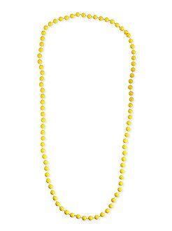Accessoires - Collier long perles - Kiabi