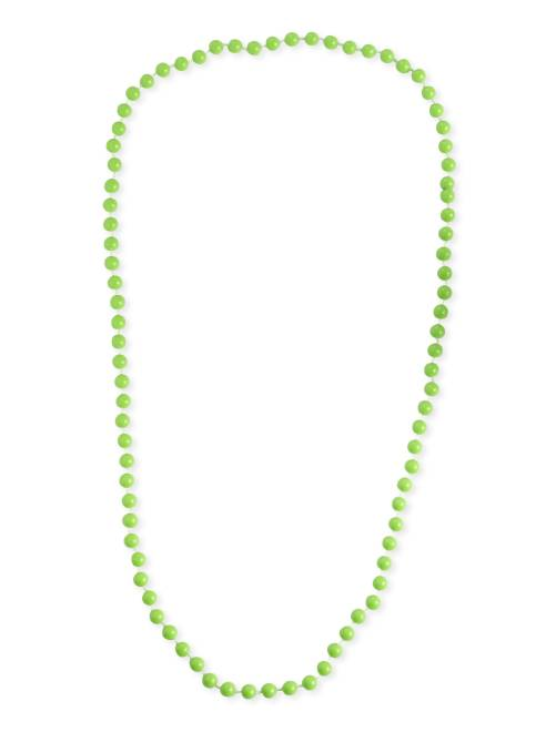 Collier long perles                                                                  vert Femme