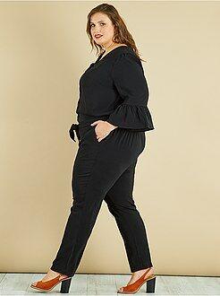 Combinaison, salopette - Combinaison pantalon à manches cloches - Kiabi