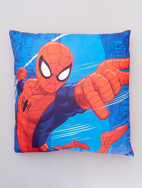 Coussin 'Spider Man'                             bleu/rouge