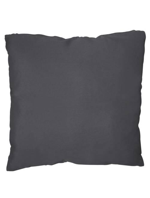 Coussin uni déhoussable                                                                                                                 gris