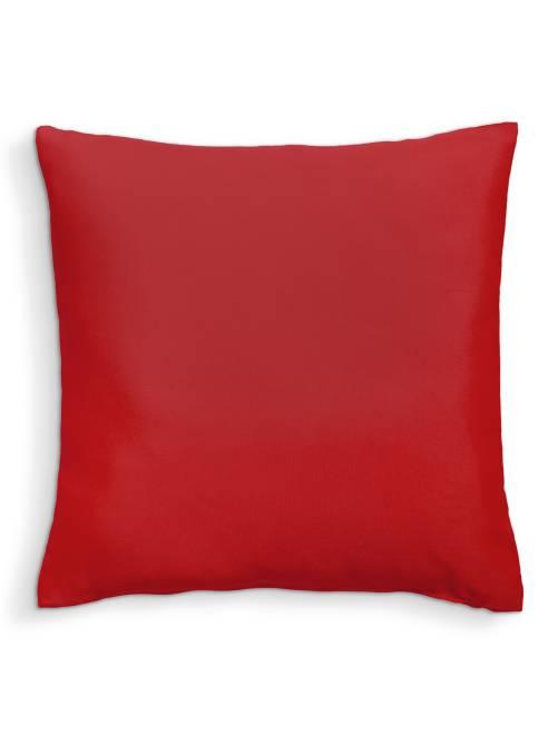 Coussin uni déhoussable                                                                                                                 rouge