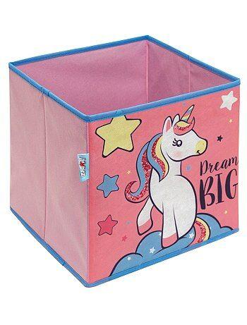 Cube de rangement pliable 'licorne' - Kiabi