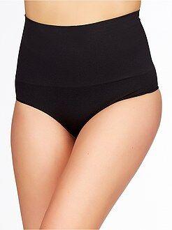 Culotte, shorty, string - Culotte haute shapewear sans couture 'slim effect'