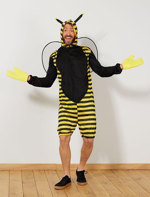 Déguisement abeille                             jaune Homme