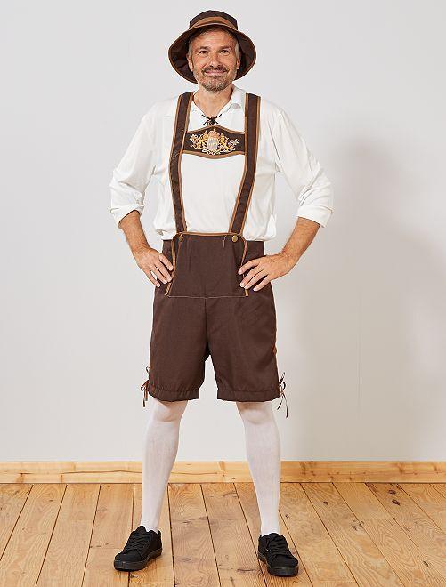 Déguisement bavarois                             marron Homme