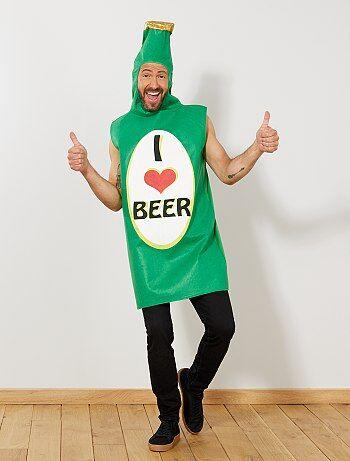 Homme - Déguisement bouteille de bière - Kiabi