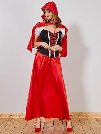 Déguisement Chaperon Rouge femme - Kiabi