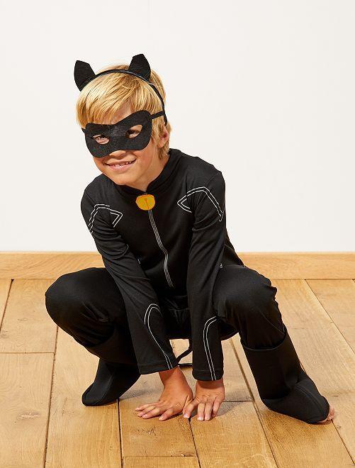 Déguisement 'Chat noir' de 'Miraculous'                             noir