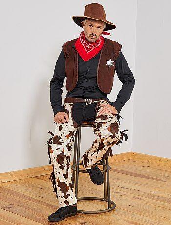 0a3c1627a5f07 Cowboys et indiens déguisements homme | Kiabi