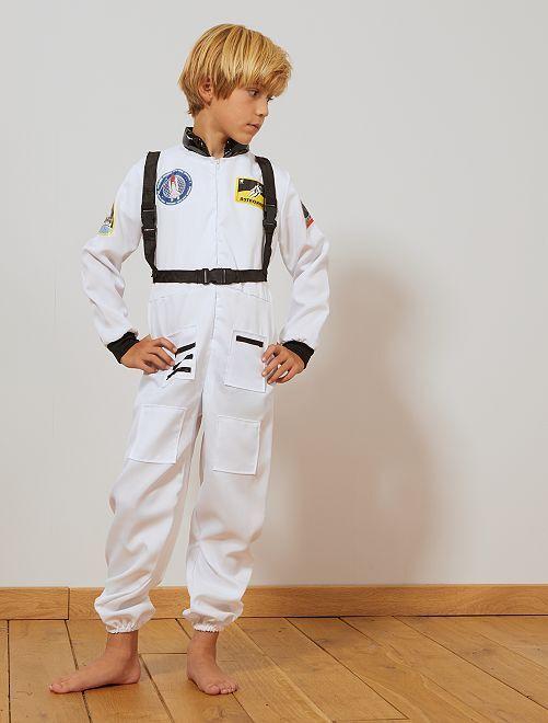 Déguisement d'astronaute                             blanc/noir