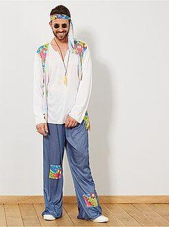 Hippies - Déguisement de hippie homme