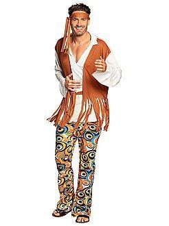 Homme Déguisement de hippie