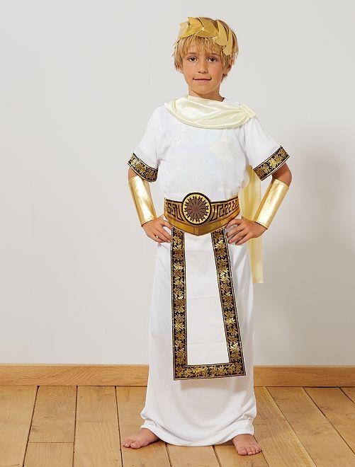 Déguisement de romain                             blanc Enfant