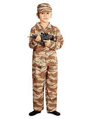 Enfant - Déguisement de soldat - Kiabi