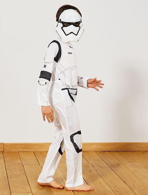 Déguisement de 'Stormtrooper'                             blanc Enfant