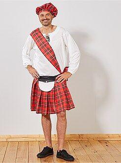 Déguisement homme - Déguisement d'écossais