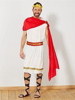 Homme Déguisement d'empereur romain
