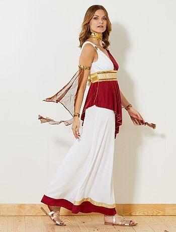 Femme - Déguisement d'impératrice romaine - Kiabi