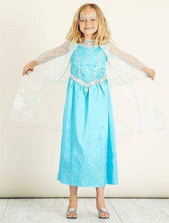 Enfant - Déguisement 'Elsa' de 'La Reine des neiges' - Kiabi