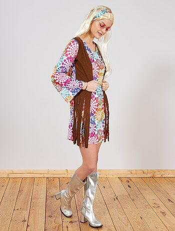Déguisement Hippie Femme - Kiabi