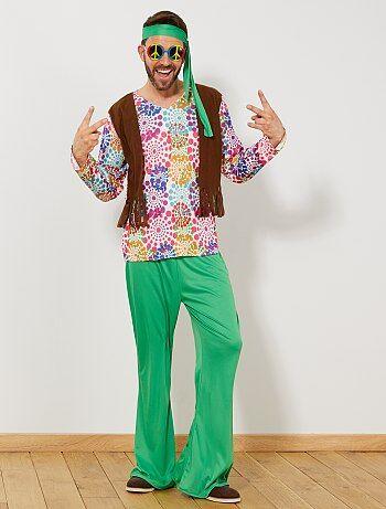 Déguisement Hippie Homme - Kiabi