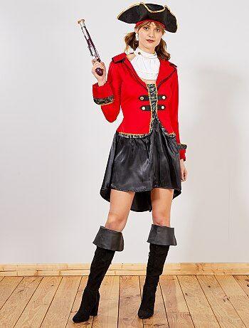 Femme - Déguisement Pirate Femme - Kiabi