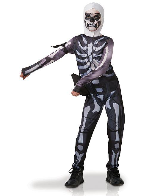 Déguisement 'Skull Trooper Fortnite'                             noir/blanc