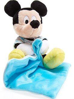 Peluche, doudou - Doudou 'Mickey' phosphorescent - Kiabi