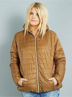 Manteau, veste - Doudoune légère avec capuche
